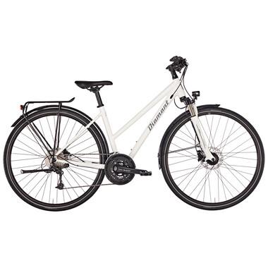 Bicicleta de viaje DIAMANT ELAN DELUXE TRAPEZ Mujer Blanco 2019